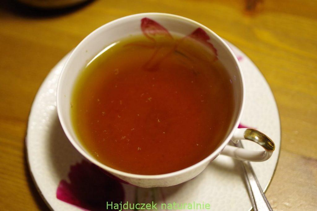 karmelowa herbatka