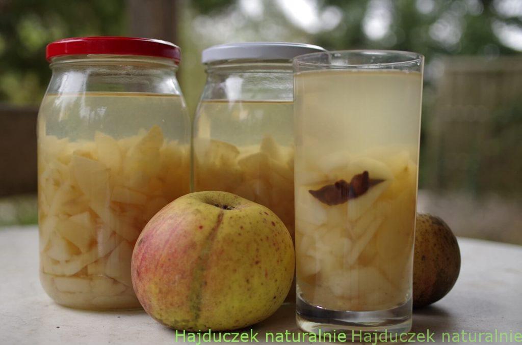 korzenny kompot jabłkowy
