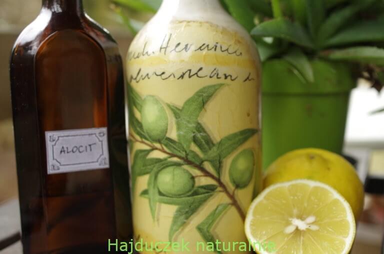 olej jako składnik mikstury oczyszczającej