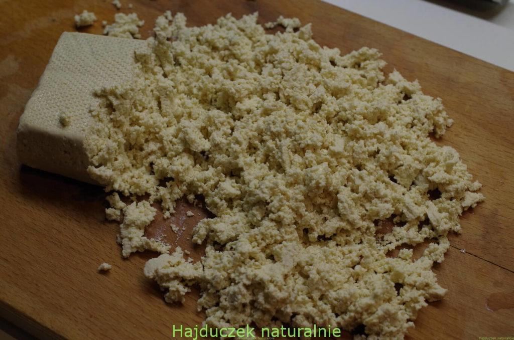 jajecznica z tofu - czyli tofucznica