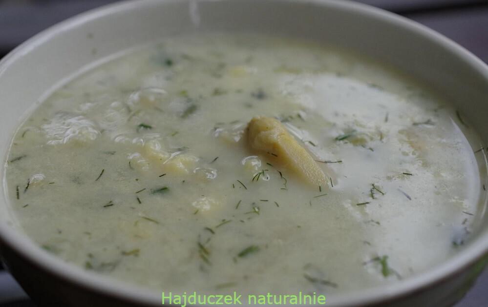 zupa szparagowa mojej mamy