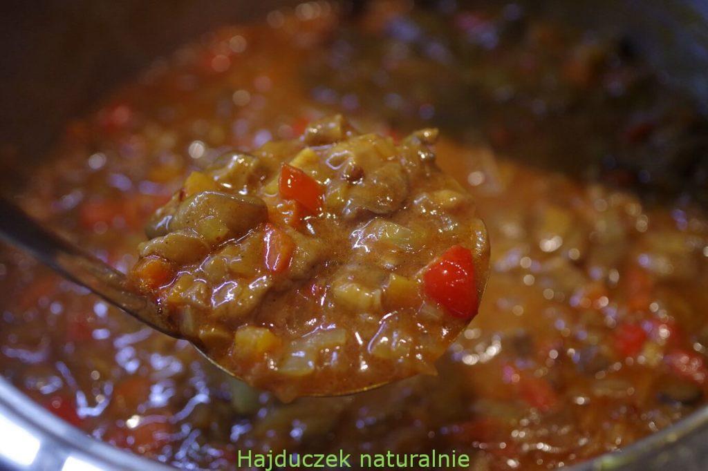 grzyby z papryką