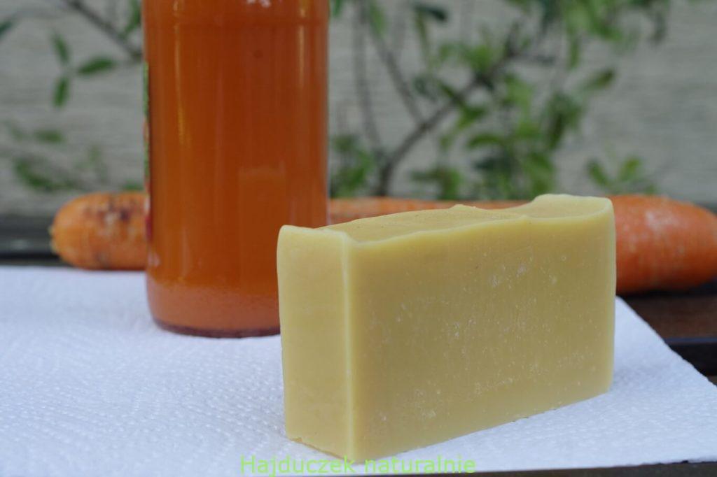 mydło marchewkowe
