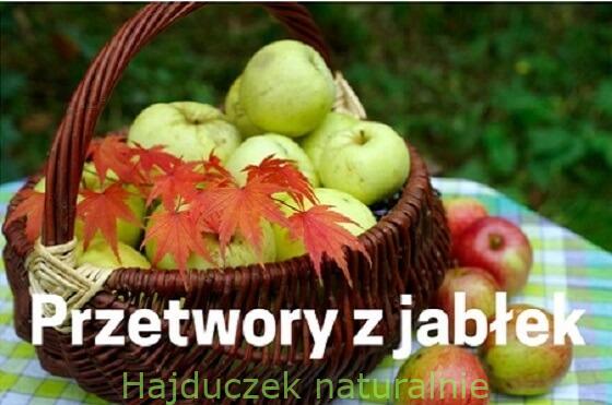 Przetwory z jabłek – spis treści
