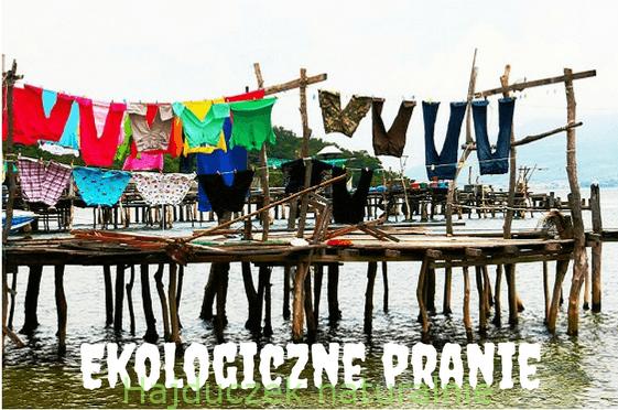Ekologiczne pranie