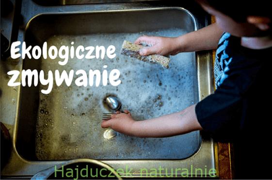 Ekologiczne zmywanie