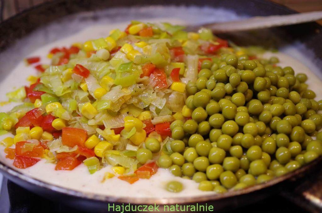 naleśniki z warzywami