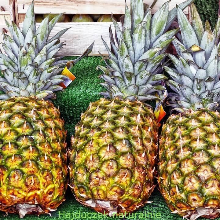smoothie z buraka i ananasa