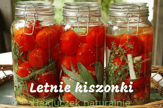 Letnie kiszonki – spis treści