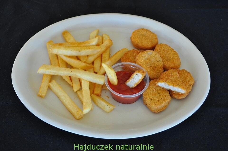 wegetariańskie nuggetsy