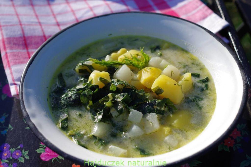 oberiba, czyli zupa z kalarepy