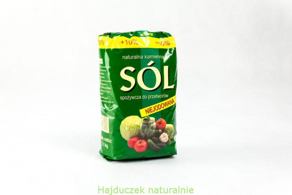 sól kłodawska niejodowana