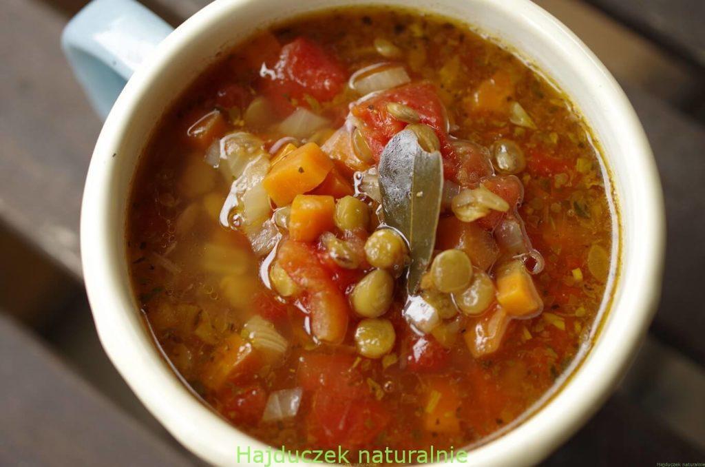 zupy strączkowe