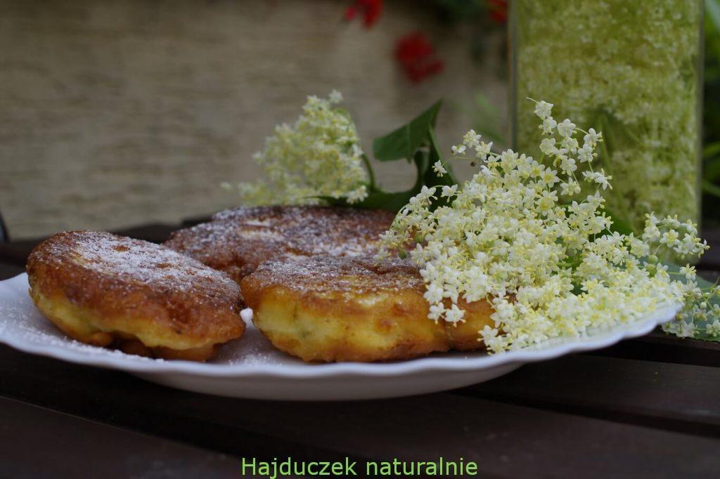 racuszki z kwiatów bzu czarnego