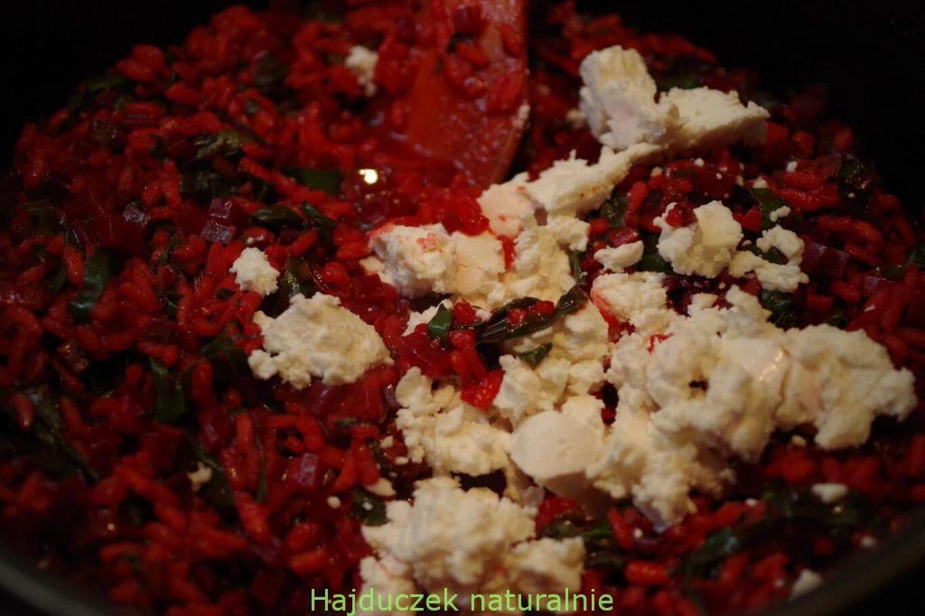 risotto z kozim serem