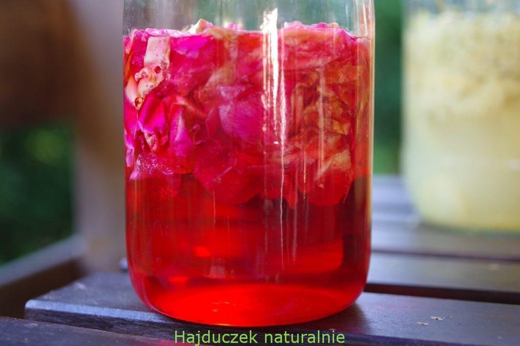 gliceryt z płatków róży